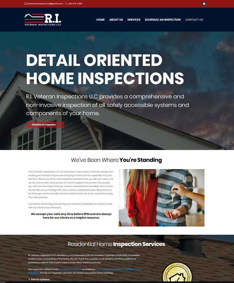 RI Home Inspections Screen Shot
