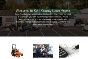 Kent County Lawn Mower Screen shot
